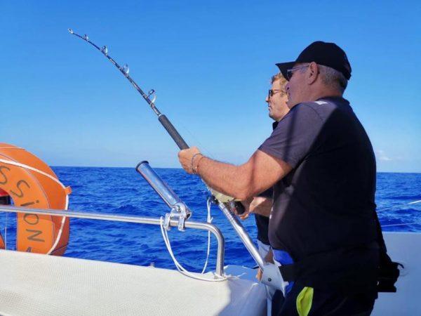 Pêche à la traine